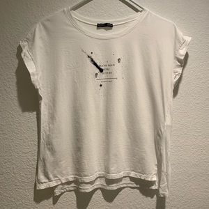 Zara Short Sleeve Top Size Small